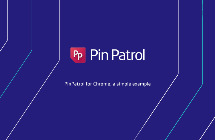 Vídeo Pin Patrol para Chrome