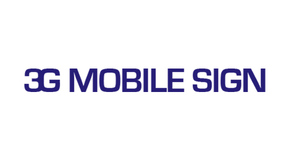 3G Mobile Sign
