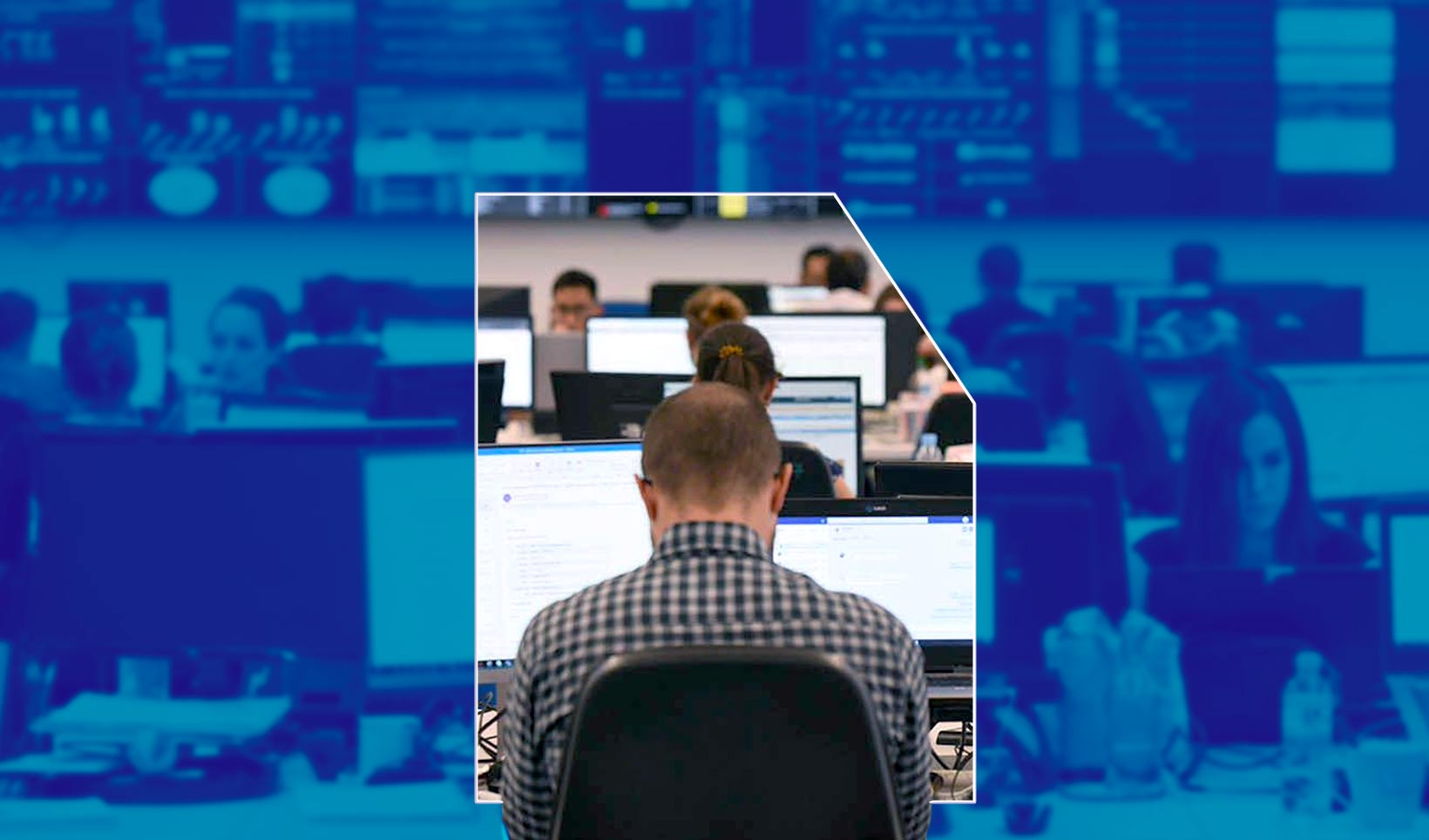El SOC, nuestro Centro de Operaciones de Seguridad desde el que provisionamos la arquitectura de seguridad de los clientes con un servicio 24x7, los 365 días del año.