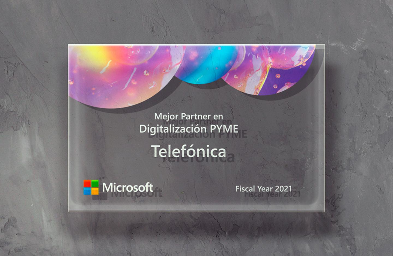 Microsoft premia las soluciones de Telefónica Tech para digitalizar a las pymes