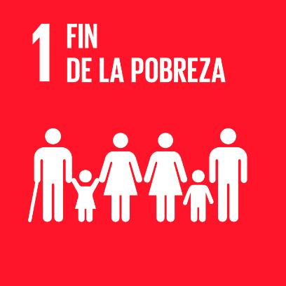 Logo de objetivo por el fin de la pobreza