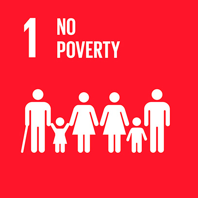 Logo for the for about no poverty