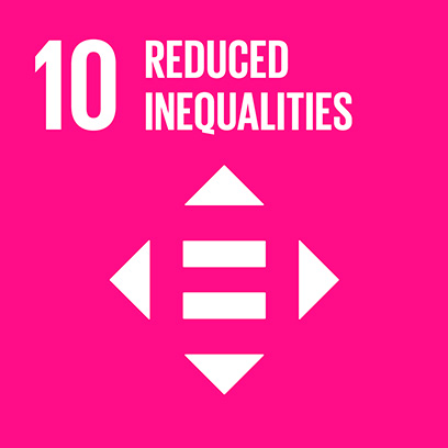Logo for the goal for reduced inequalities