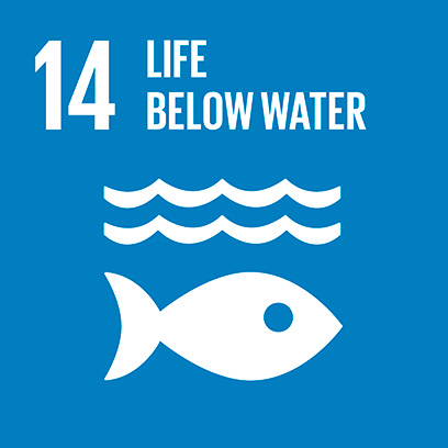 Logo for the goal for life below water