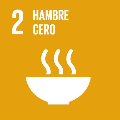 Logo de objetivo por el hambre cero