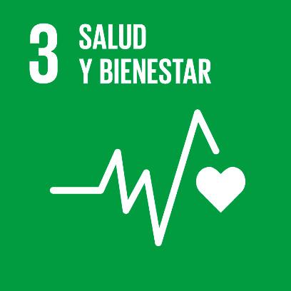 Logo de objetivo por la salud y bienestar