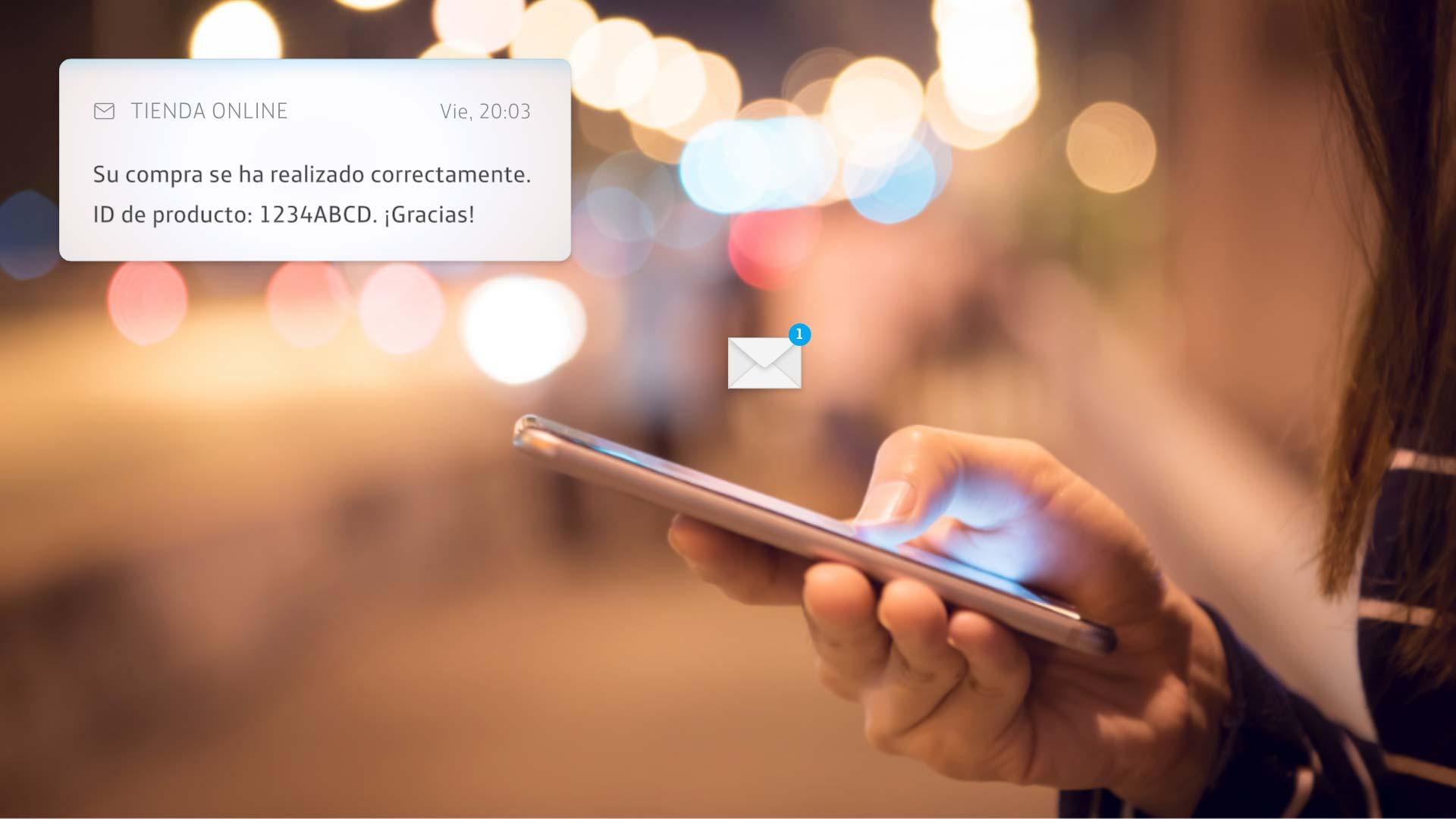 Ofrecemos paquetes de mensajería a las empresas para comunicarse más rápido y directamente con sus clientes a través de SMS y RCS