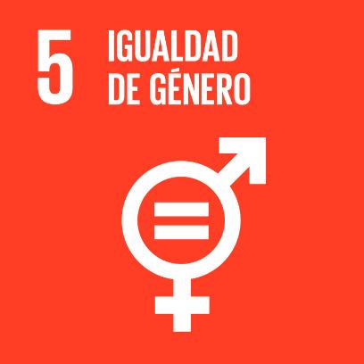 Logo de objetivo por la igualdad de género