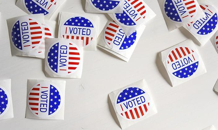 Análisis de elecciones EEUU con análisis de publicaciones en Twitter