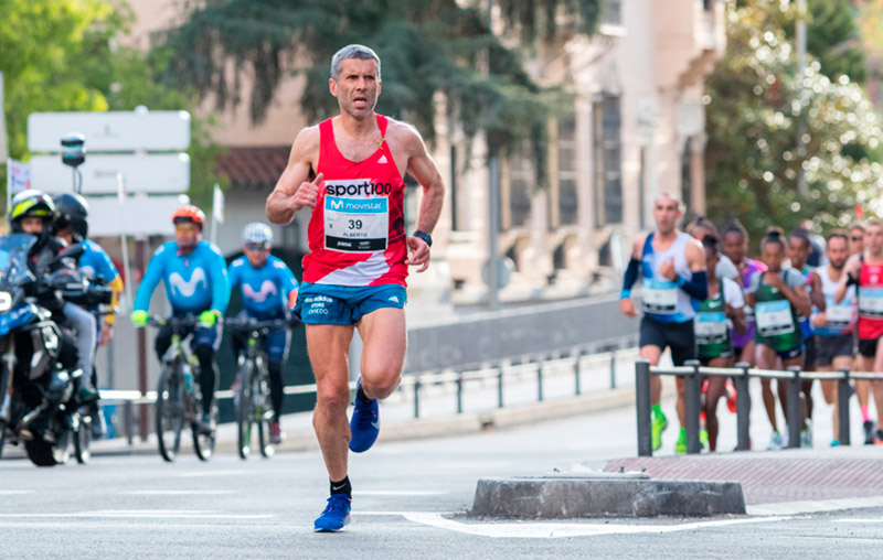 Movistar sigue a los 'runners' del Medio Maratón de Madrid